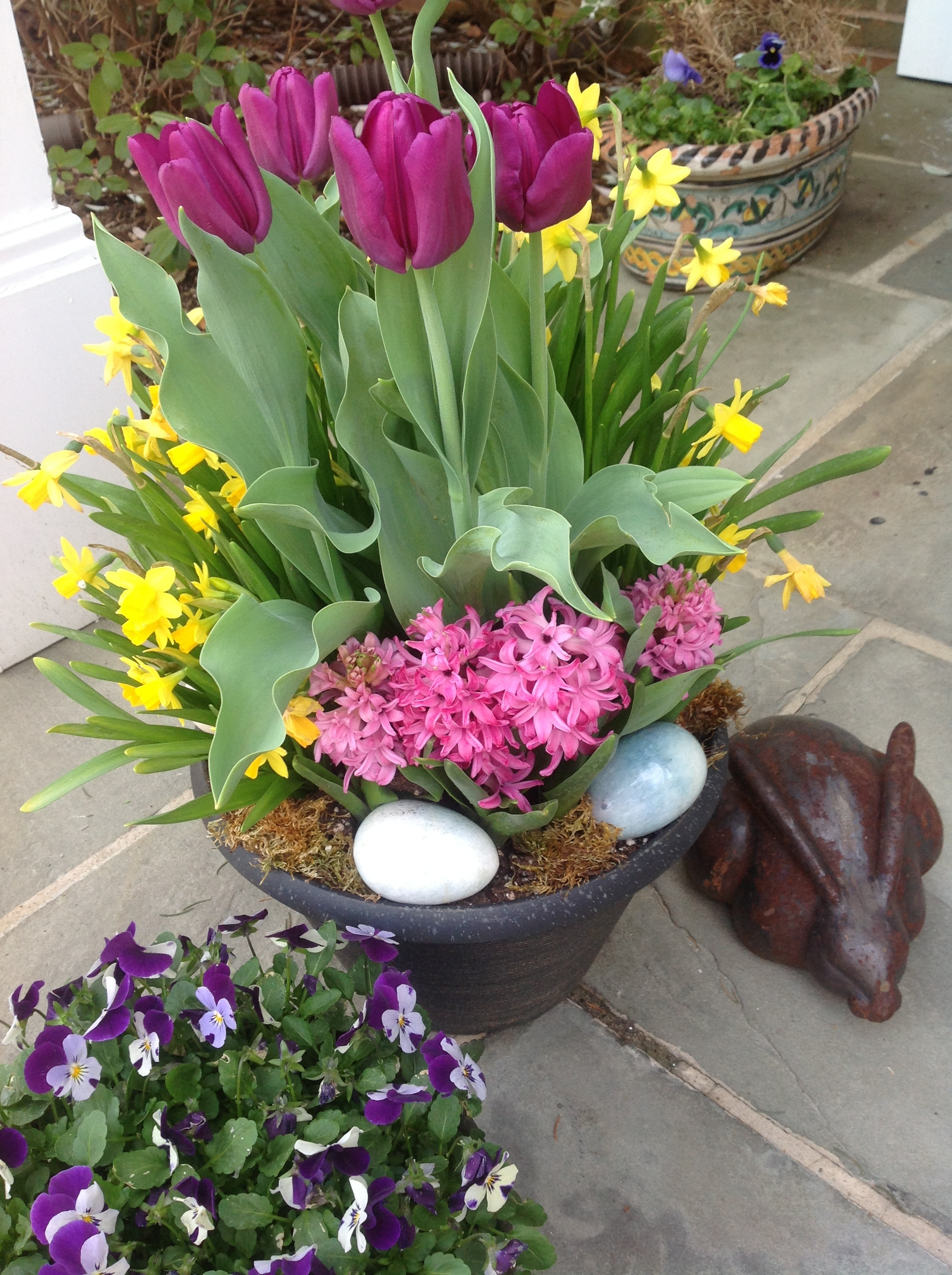 Outdoor easter decorations -  Image