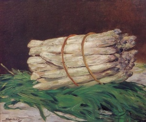 Buch of Asparagus, Edouard Manet, 1880, Wallraf- Richartz- Museum, Cologne, Germany