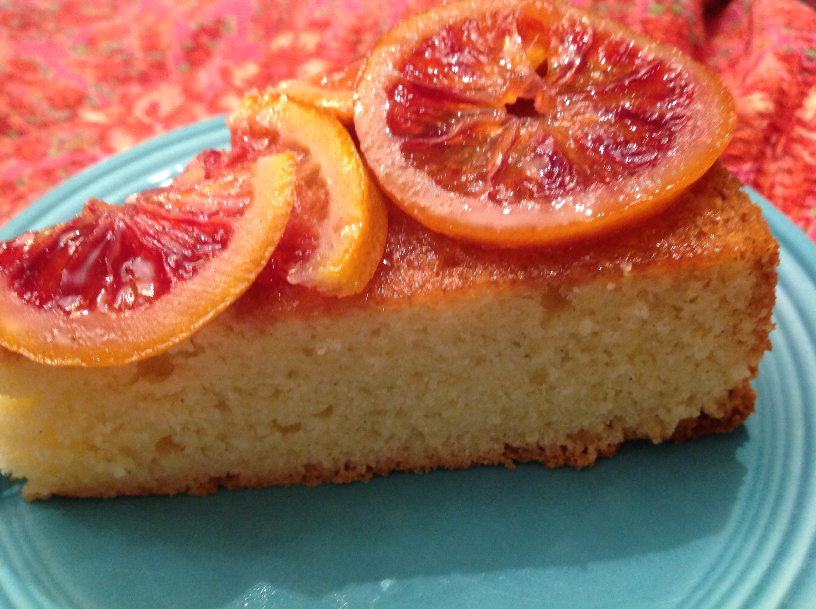 Olive Oil Cake with Candied Blood Oranges | French ...