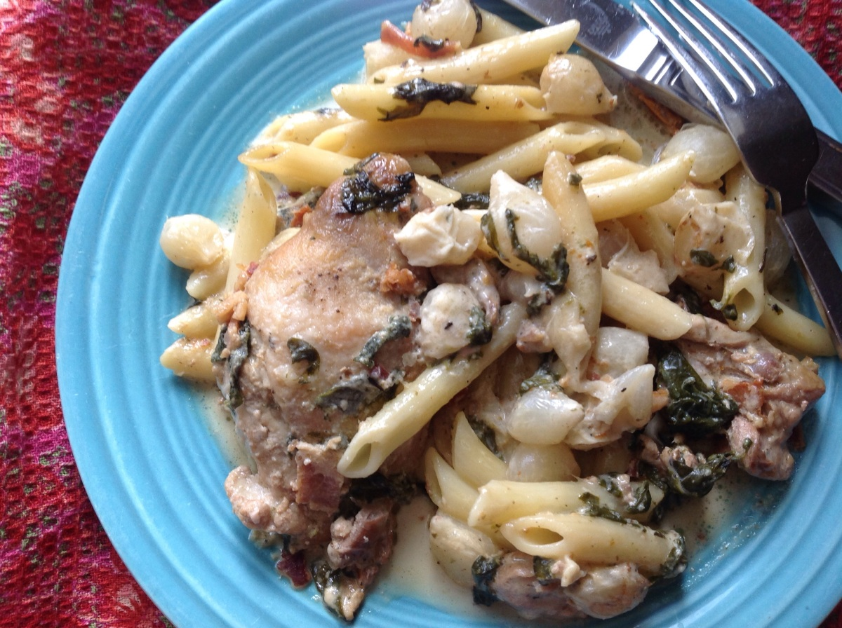 chicken thighs penne with chicken thighs linguine with chicken thighs ...