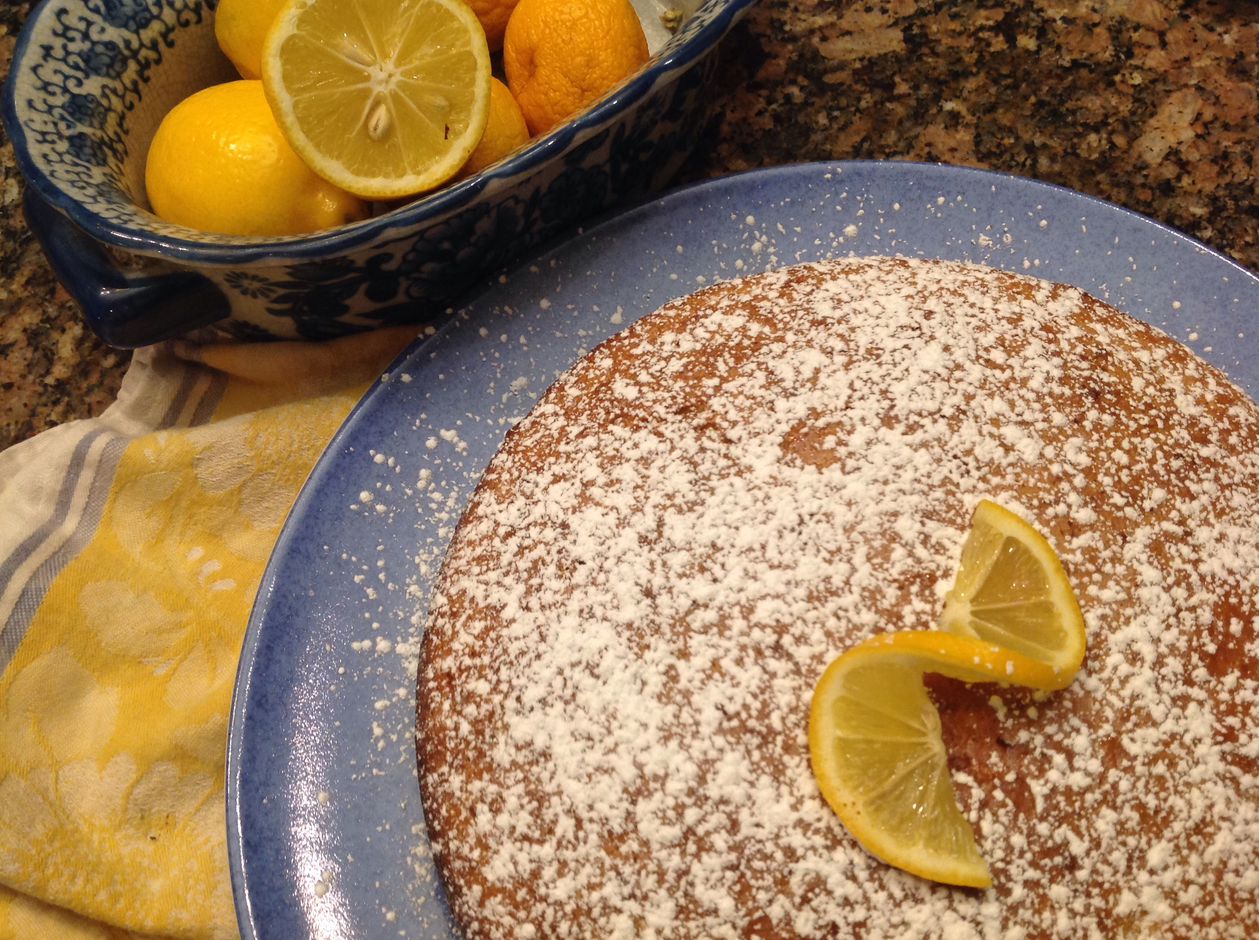 Orange Olive Oil Cake Martha Stewart