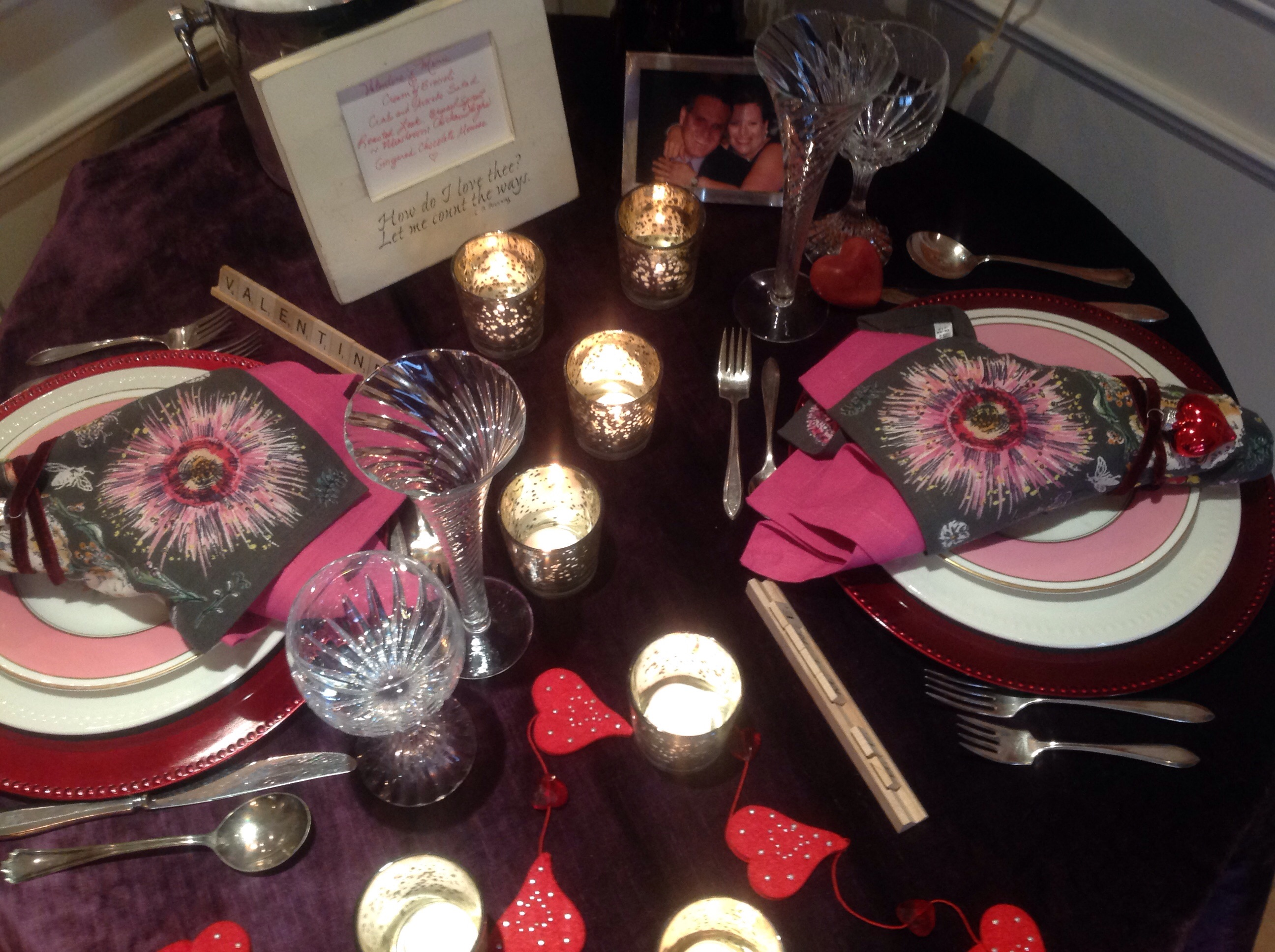 How to set a romantic dinner table for two - Image Image