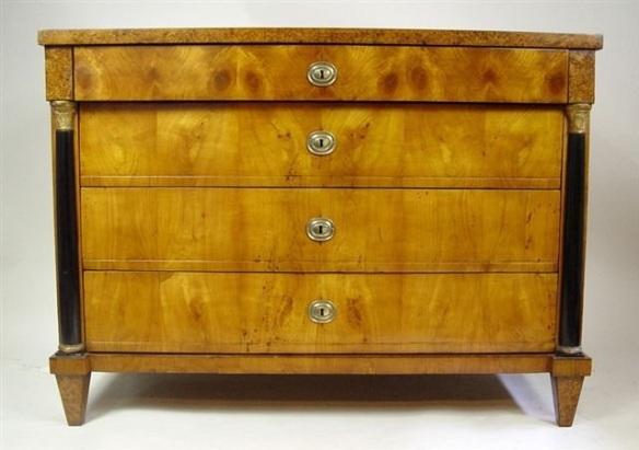 19th Century Beidermeier chest of drawers(google images)