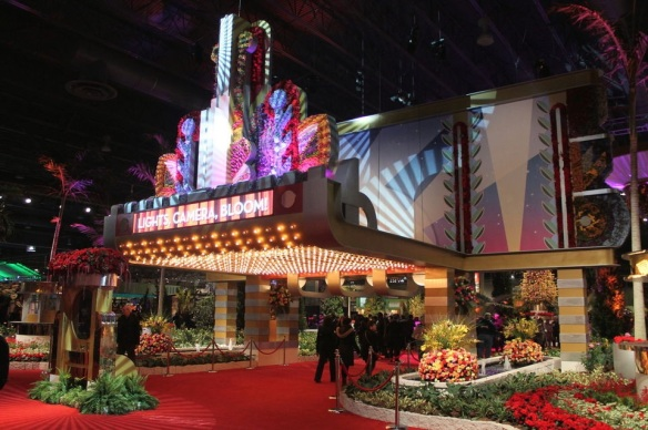 The whole marquee is done in flowers! Photo courtesy of pennlive.com