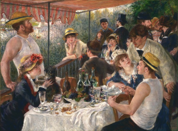 Luncheon of the Boating Party, Pierre- Auguste Renoir, the Phillips Collection, Washington, DC, 1880-1881