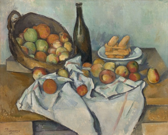 The Basket of Apples, Paul Cézanne, 1895, Art Institute of Chicago
