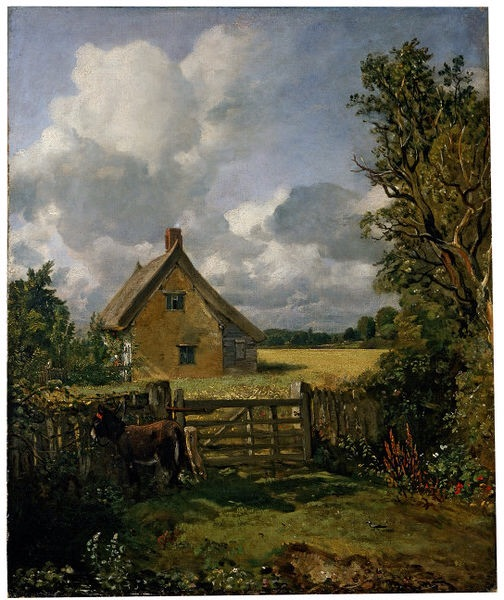 A Cottage in a Cornfield, John Constable, 1833, Victoria and Albert Museum