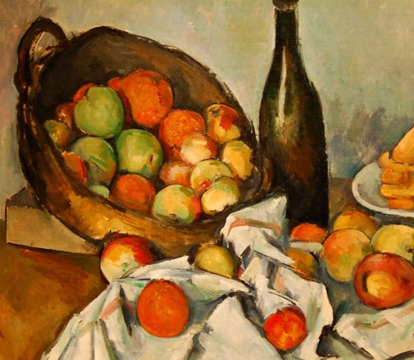 The Basket of Apples, 1893, Paul Cézanne, Art Institute of Chicago