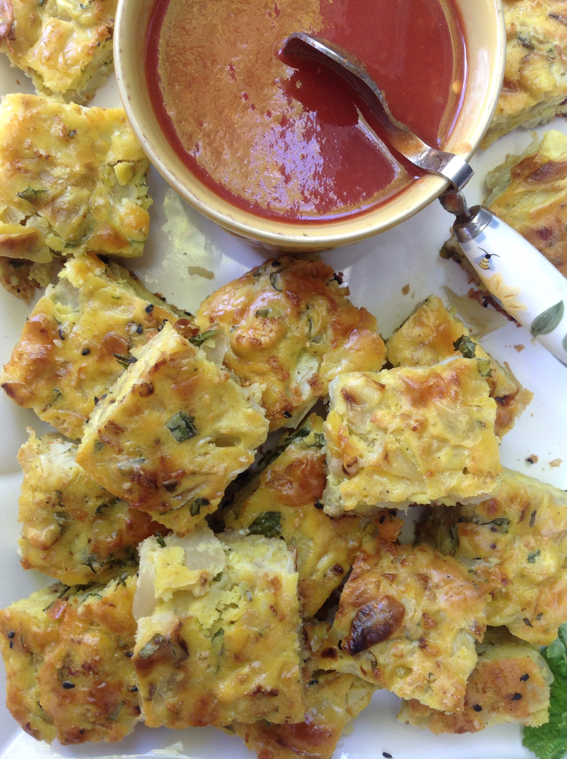 Roasted Cauliflower And Onion Savory Cake French