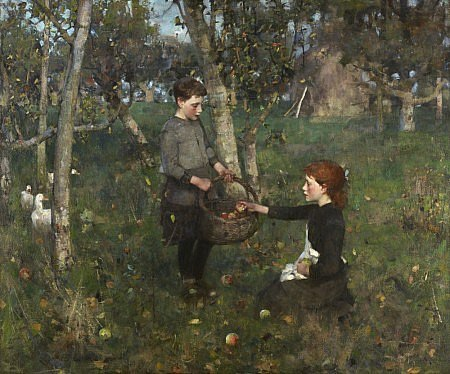 In the Orchard, Sir James Guthrie, 1885-6, National Galleries of Scotland