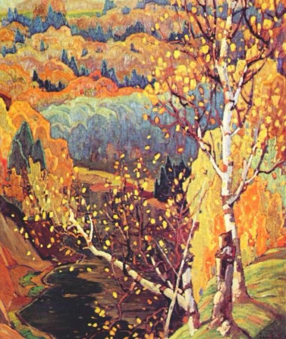 October Gold, Franklin Carmichael, 1922, Canadian Group of Seven