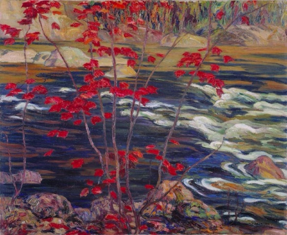 Red Maple, A. Y. Jackson, 1914, The National Gallery Of Canada