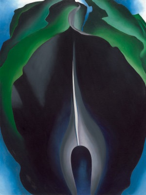 Jack-in-the-Pulpit No. IV, Georgia O'Keefe, 1930, National Gallery of Art, Washington, DC