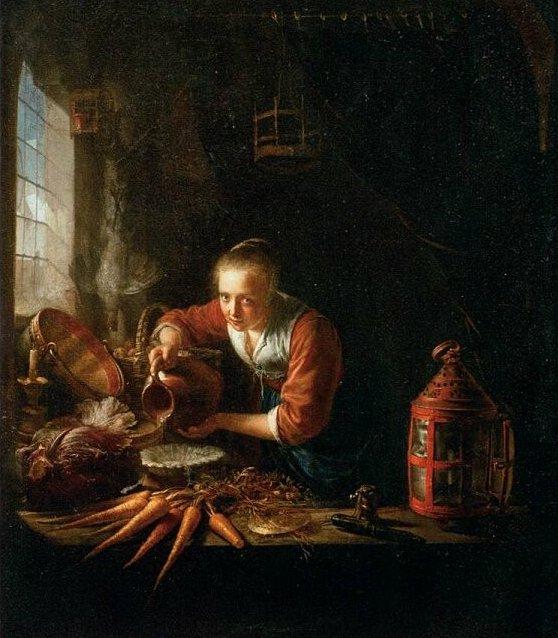 Gerrit Dou, 1640s, Musée du Louvre, Paris